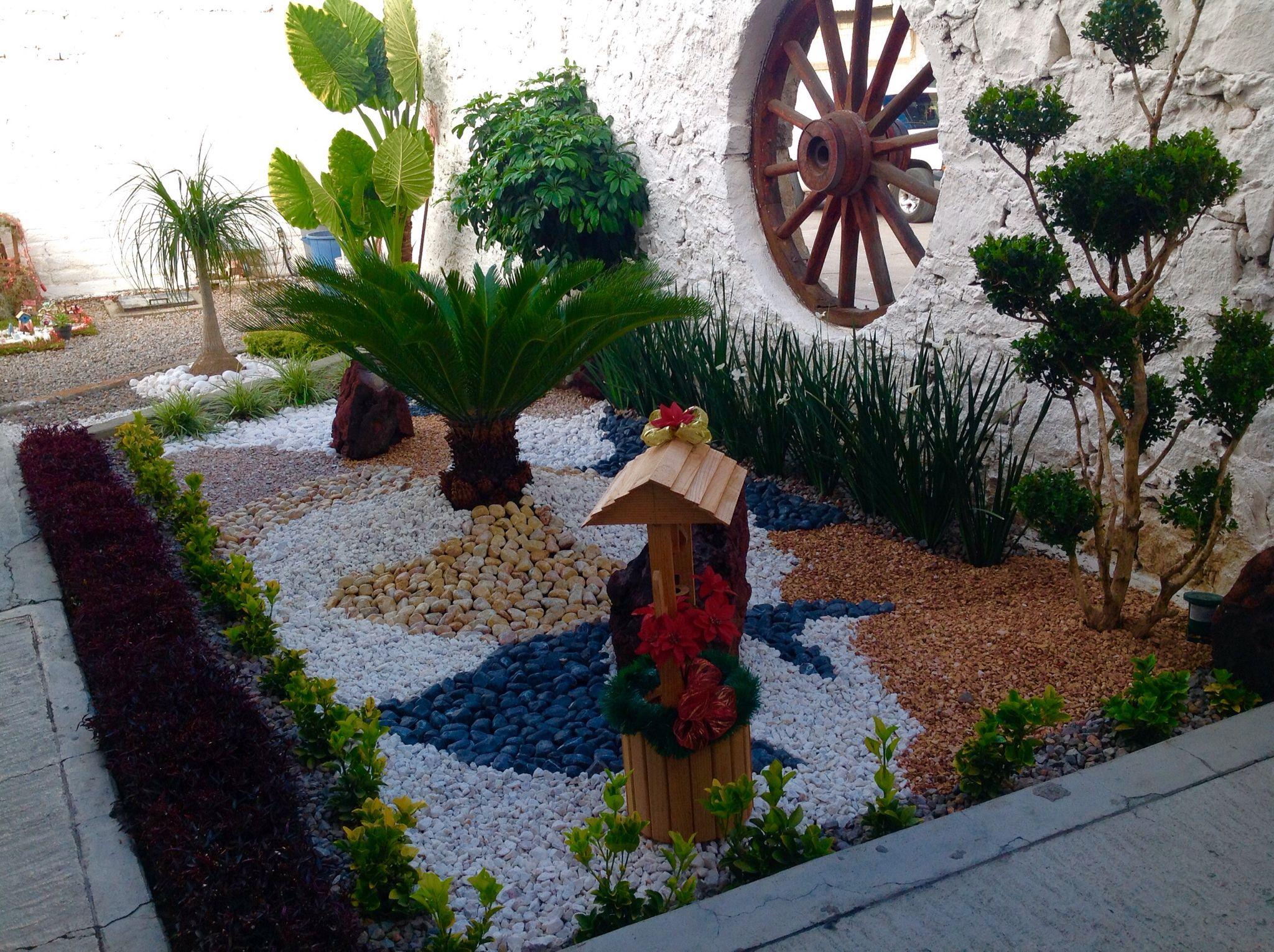 Decoraci n con piedra decoraci n de jardines pinterest - Piedras decoracion jardin ...
