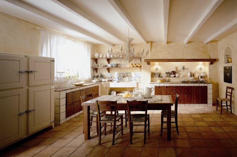 struttura-bianca-ante-in-legno-scuro-arredamento-cucine-in-muratura ...