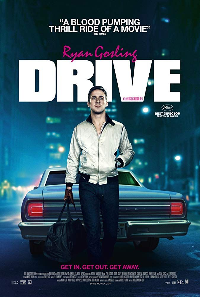 Ryan Gosling in Drive (2011) | Action movie poster, Drive ...