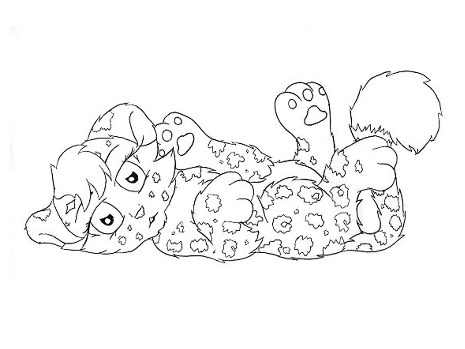 baby jaguar coloring pages | Baby milestones | Pinterest
