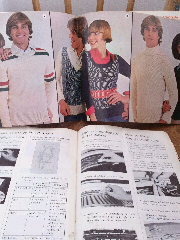 Attractive Singer Knitting Machine Patterns Photos - Sewing Pattern ...
