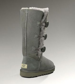 c398e55526d UGG Bailey Button Triplet 1873 Grey For Sale In UGG Outlet - $107.24 ...