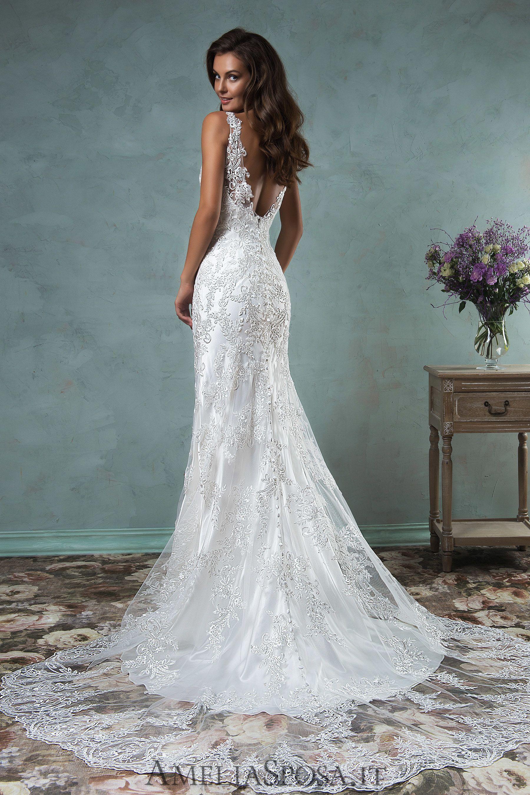5f3b914319c6 Wedding Dress Adelina, Silhouette: Sheath / Mermaid | Wedding ...