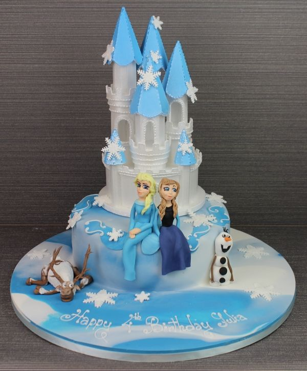 Frozen cake movie Frozen Pinterest Disney frozen cake and Cake