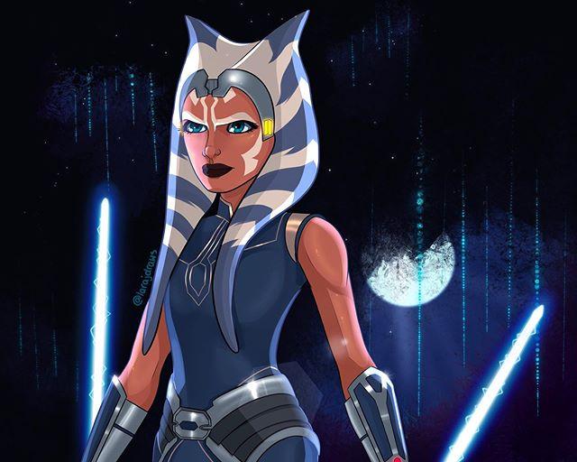 Ahsoka Tano Clone Wars Season 7 Art By Larajdraws Instagram Star Wars Ahsoka Star Wars Cartoon Star Wars Drawings