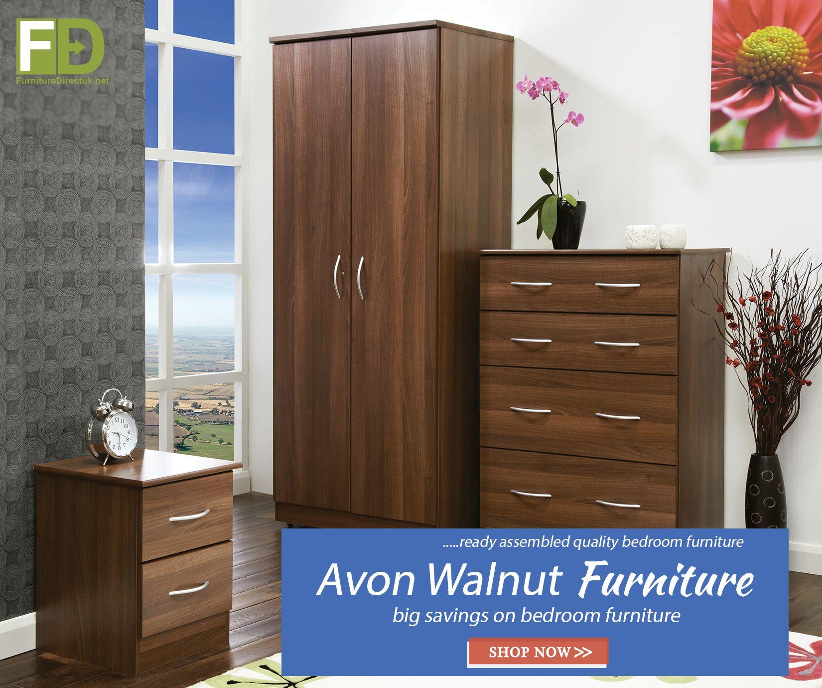 Sale 🤩🤩! Avon Walnut Bedroom 🛏️ Furniture