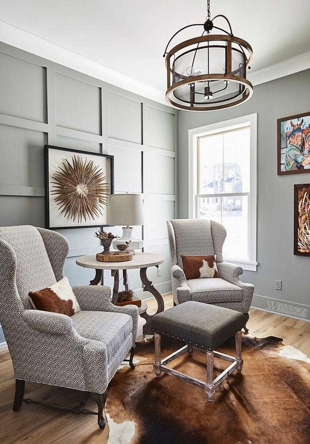 42 Popular Interior Design Ideas With Farmhouse Style