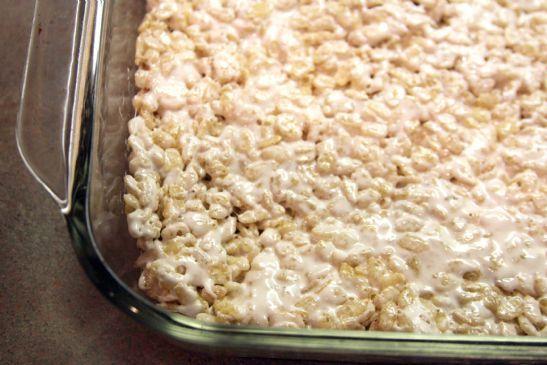 Microwave Rice Crispy Treats Recipe