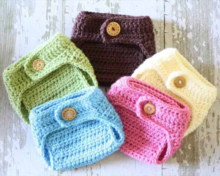 65 Crochet Amazing Baby Diaper For Outfits | Ropa