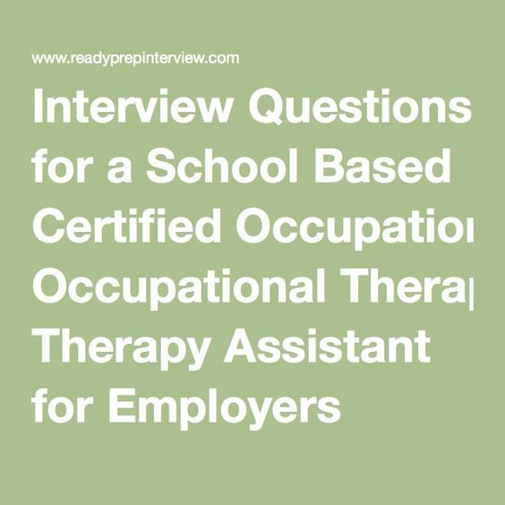 Interview Questions for a School Based Certified ...