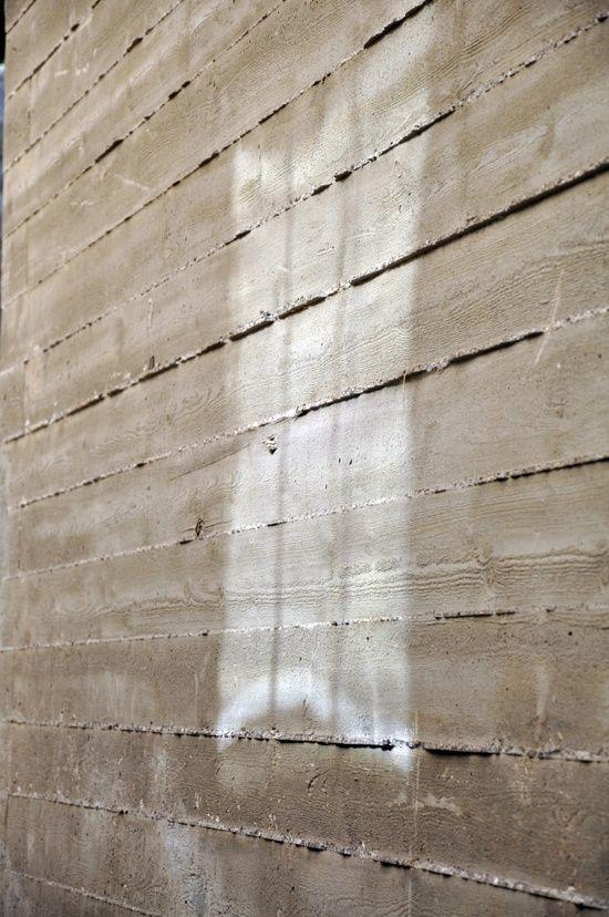 Envers Du Decor Concrete Formwork Board Formed Concrete Concrete Texture
