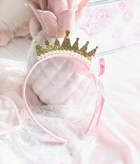 deded3bb6015 Baby Princess Headband Girls Princess Headband Gold Tiara ...