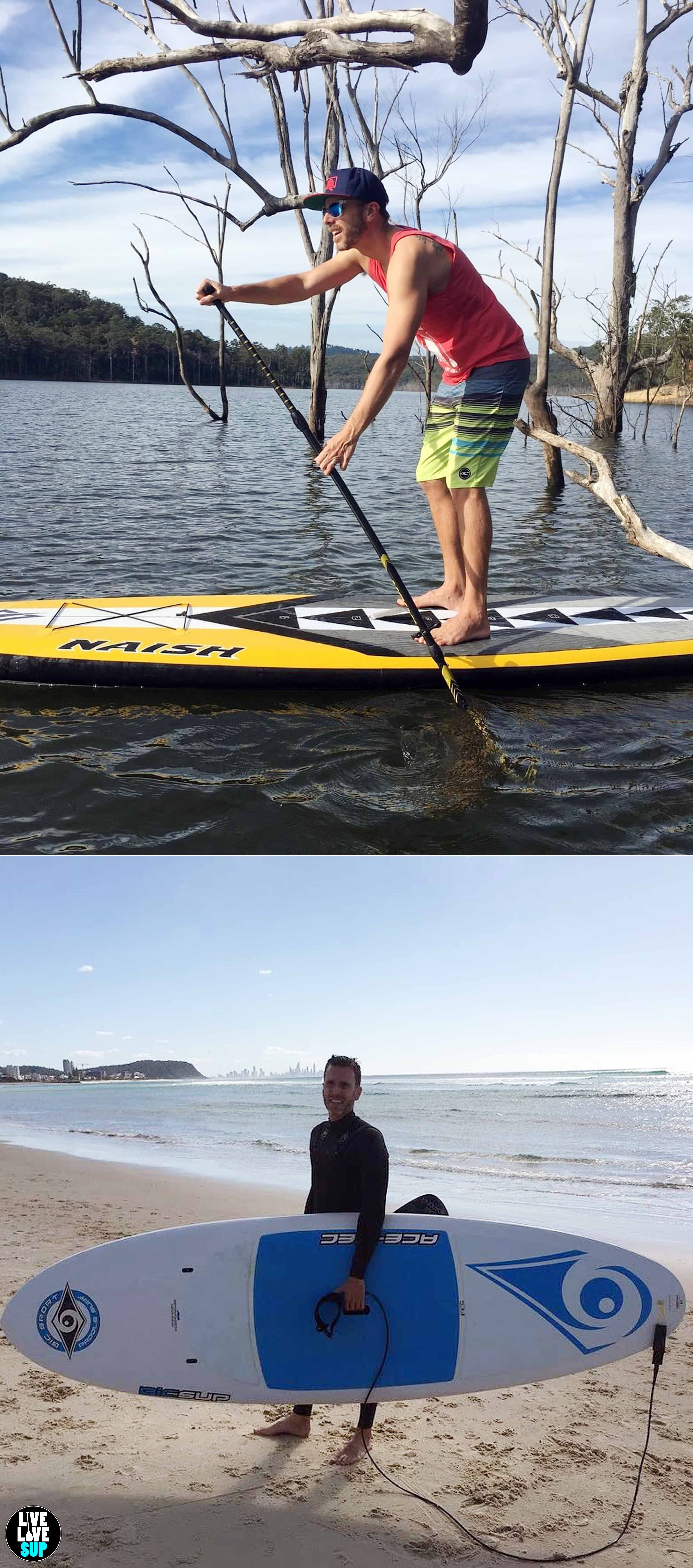 SUP Surf Stand Up Paddle board Squelette supboard SUP T-Shirt