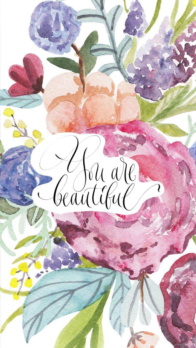 Feminine Mood iPhone Wallpaper - Simple + Beyond | wallpaper | Pinterest | Wallpaper, Iphone ...