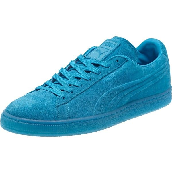 83420f9ffed Puma Suede Embossed Iced Fluo Men s Sneakers ( 70) ❤ liked on Polyvore  featuring men s fashion