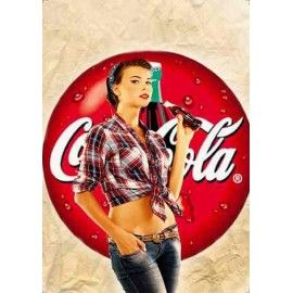 coca cola pin up - Google Search
