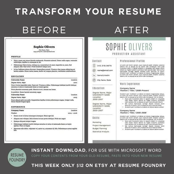 Transform your old resume into a modern version Very simple just - free resume builder that i can save