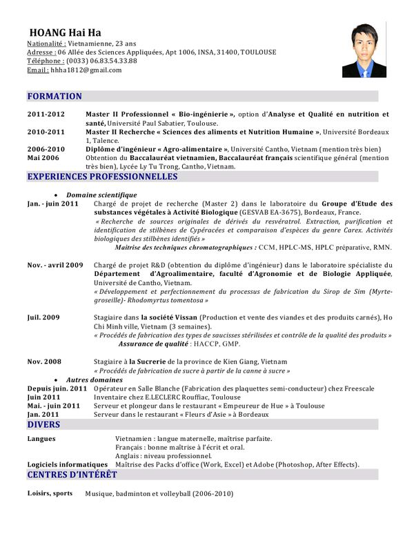 Cv Charge D Affaire Bureau D Etudes N 31532 Exemple De Cv Charge D Affaire Exemple Cv Sciences Appliquees Exemple