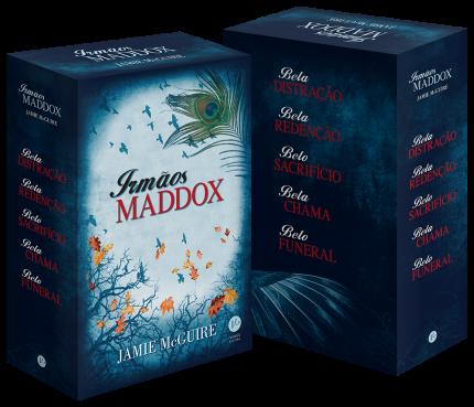 Box - Irmãos Maddox - 5 Volumes – Edição Econômica