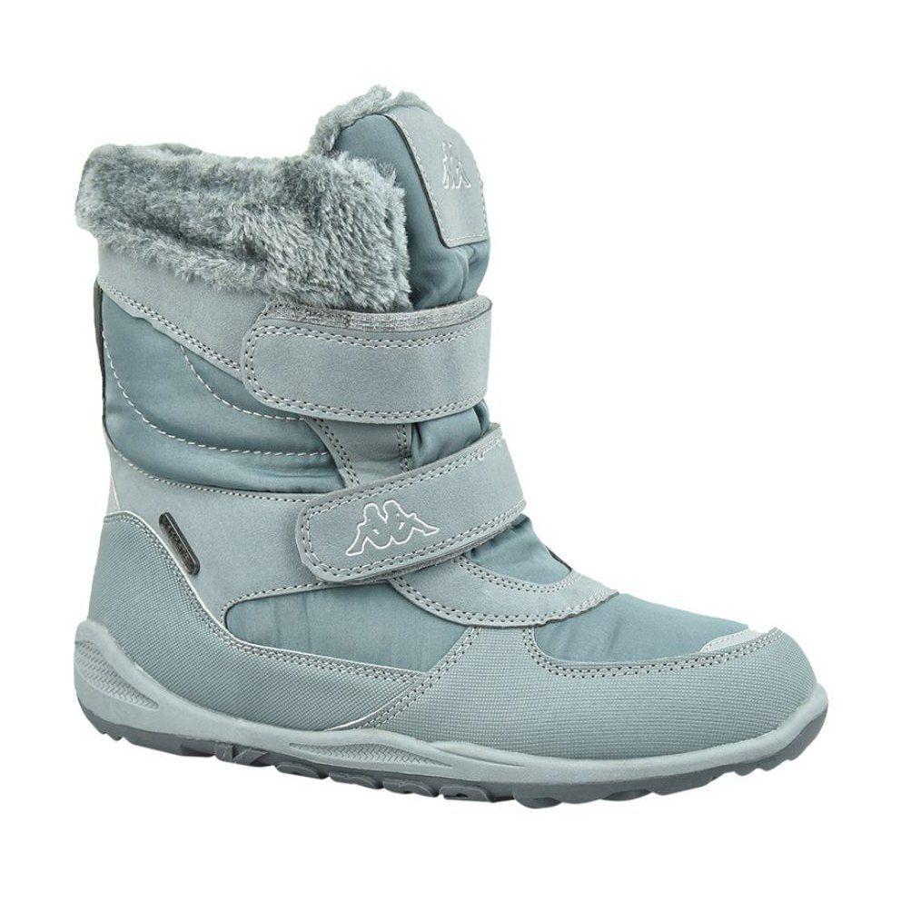 Buty Zimowe Kappa Gurli Tex Jr 260728k 1615 Szare Winter Boots Boots Kid Shoes
