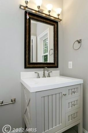 Country Powder Room With Powder Room Martha Stewart Living Seal