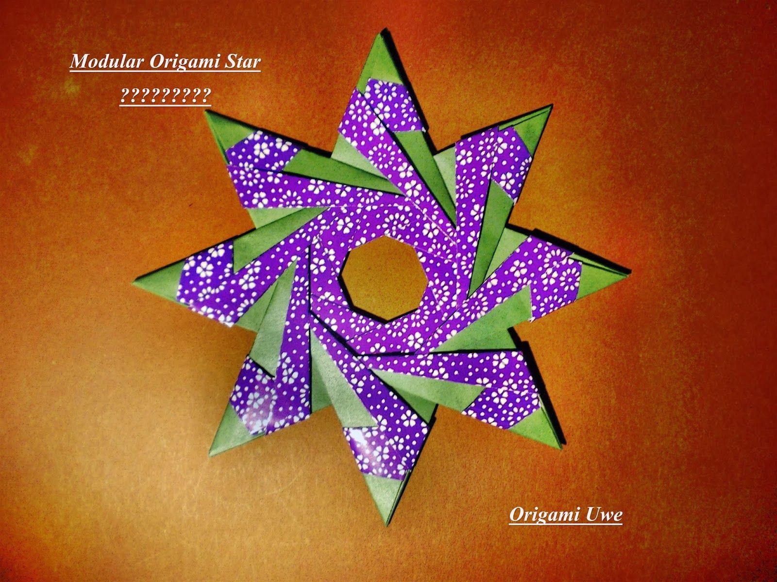 Modular Origami Star Design by me   Origami   Origami ... - photo#23