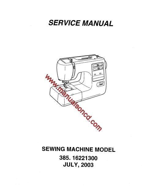 Kenmore 4040 Sewing Machine Service Manual Sewing Machine Fascinating Kenmore Sewing Machine Model 385 Owners Manual