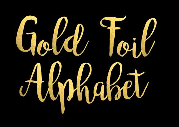 gold font photoshop