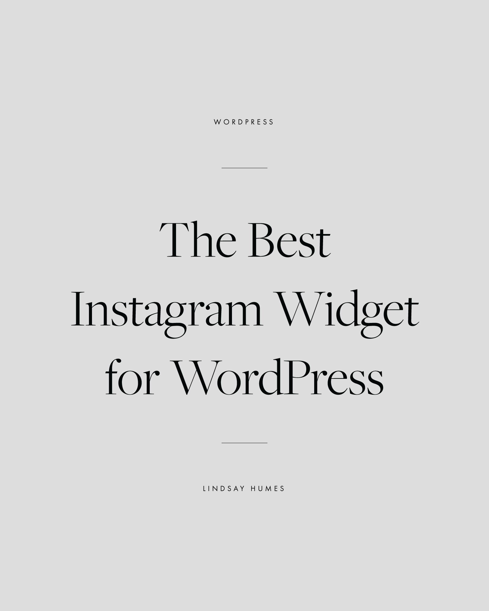 How to add instagram widget to your wordpress blog ccuart Choice Image