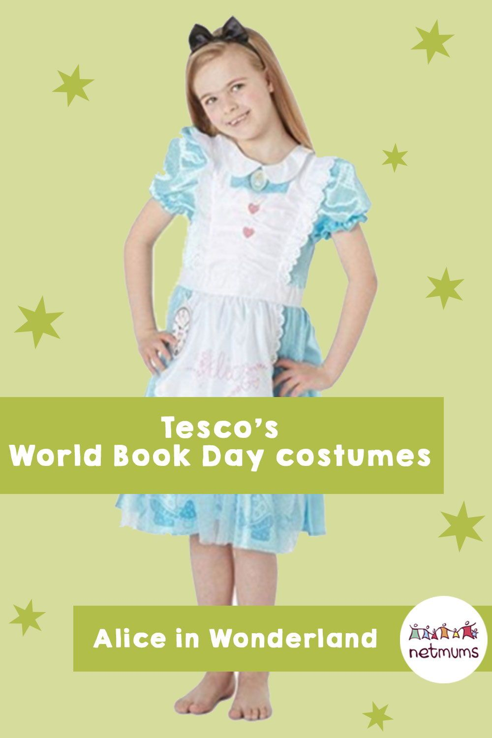 Tescou0027s World Book Day Costumes. World Book Day Is Just Around The Corner  (reminder