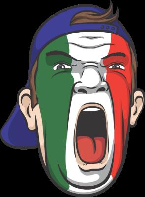 italian soccer fan | Soccer fans, Juventus soccer, Italian ...
