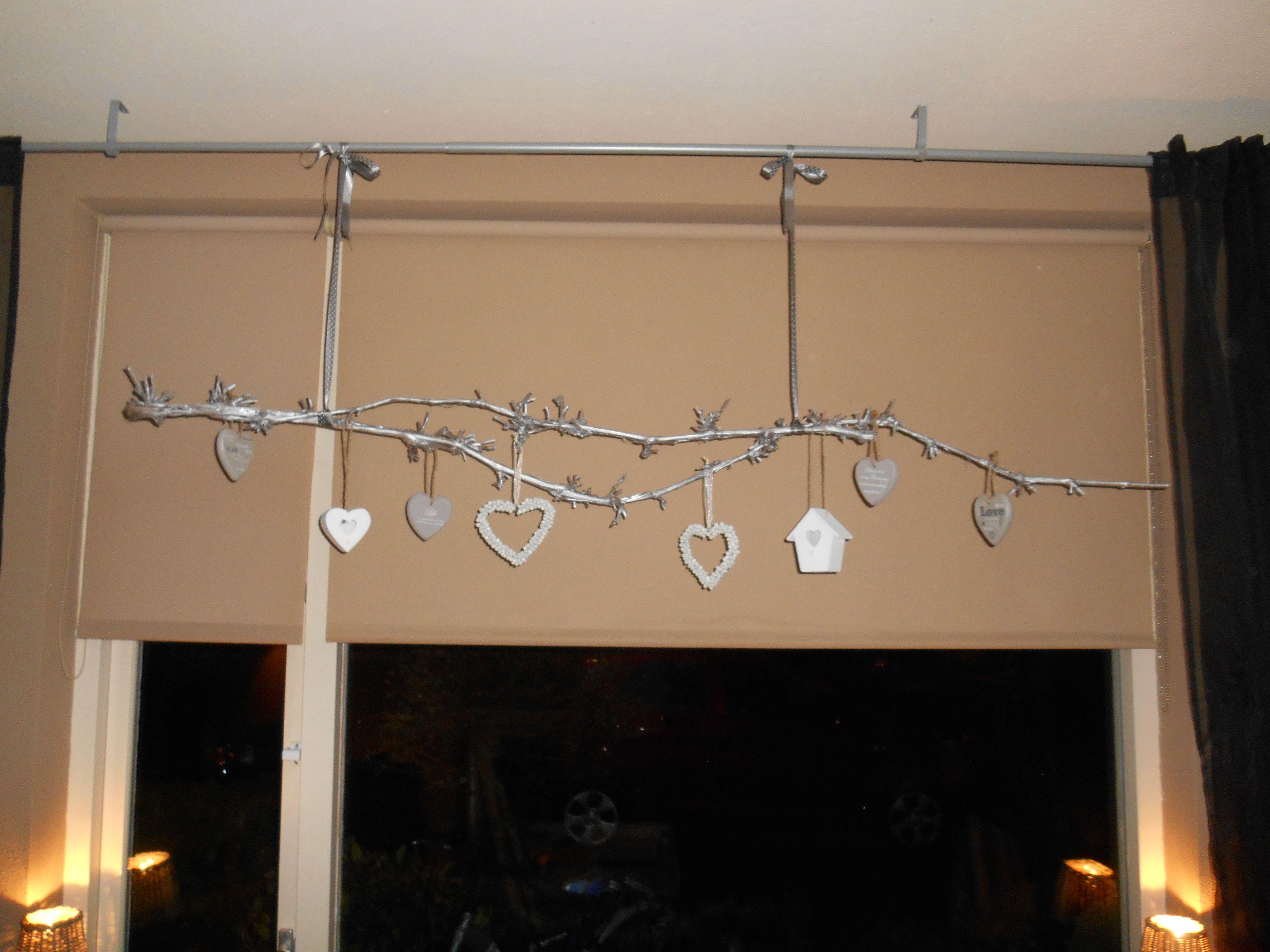 druiventak uit eigen tuin wordt decoratieve hanger met