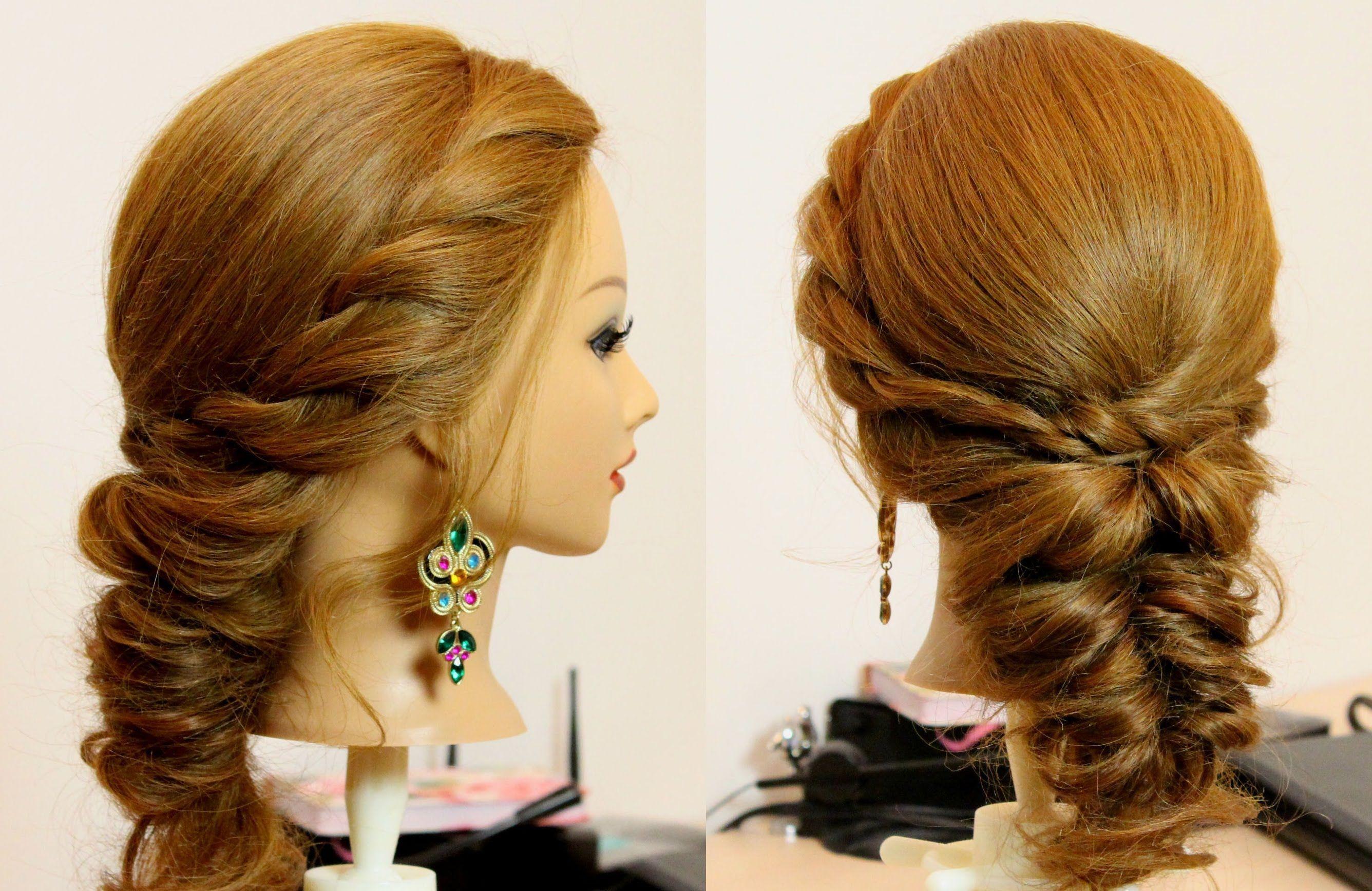 تسريحات شعر بسيطة للشعر القصير Youtube Medium Hair Styles Easy Hairstyles Hair Styles