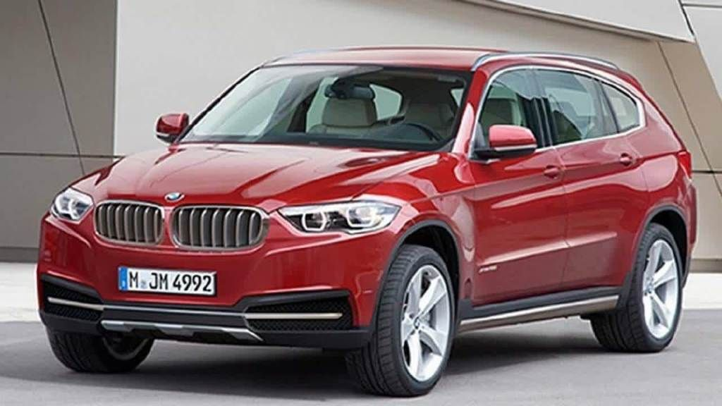 BMW X7 SUV Red
