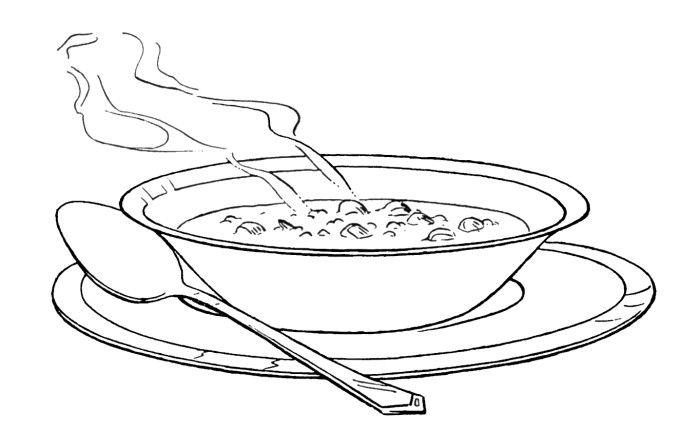 One Serving Of Warm Soup Coloring Pages Food Coloring Pages Kidsdrawing Free Coloring Pages Online Ausmalbilder Bilder Ausmalen