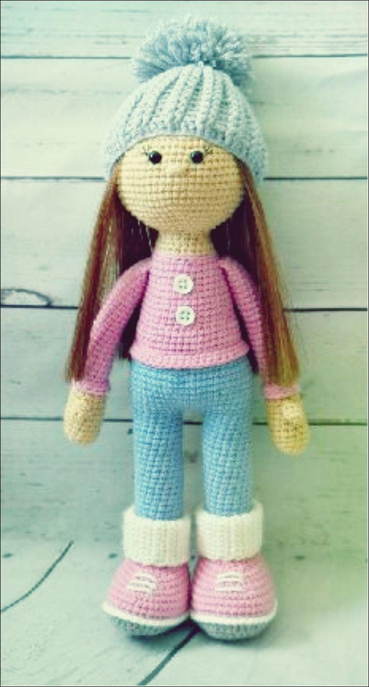 Photo of Schritt für Schritt Puppe stricken – Amigurumi X