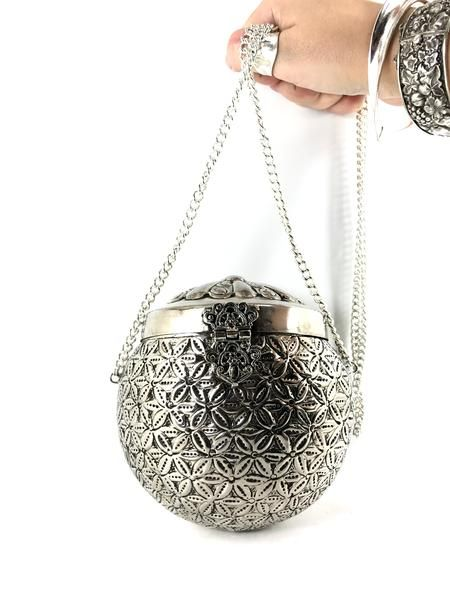 Bolsa de Metal Indiana Bola