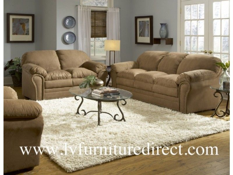 2PC Sabrosa Sofa+Loveseat Collection in Brown Microfiber-$749