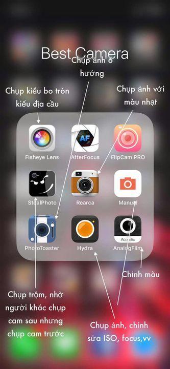 CÔNG THỨC CHỈNH ẢNH  - Review App P1