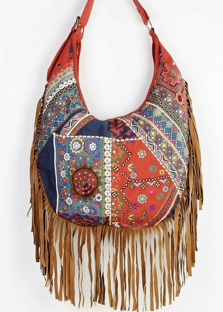 bbdb43bd3040 Urban Outfitters Ecote Suede Mirror Hobo Bag Boho Gypsy Festival Free People   fashion  clothing  shoes  accessories  womensbagshandbags (ebay link)