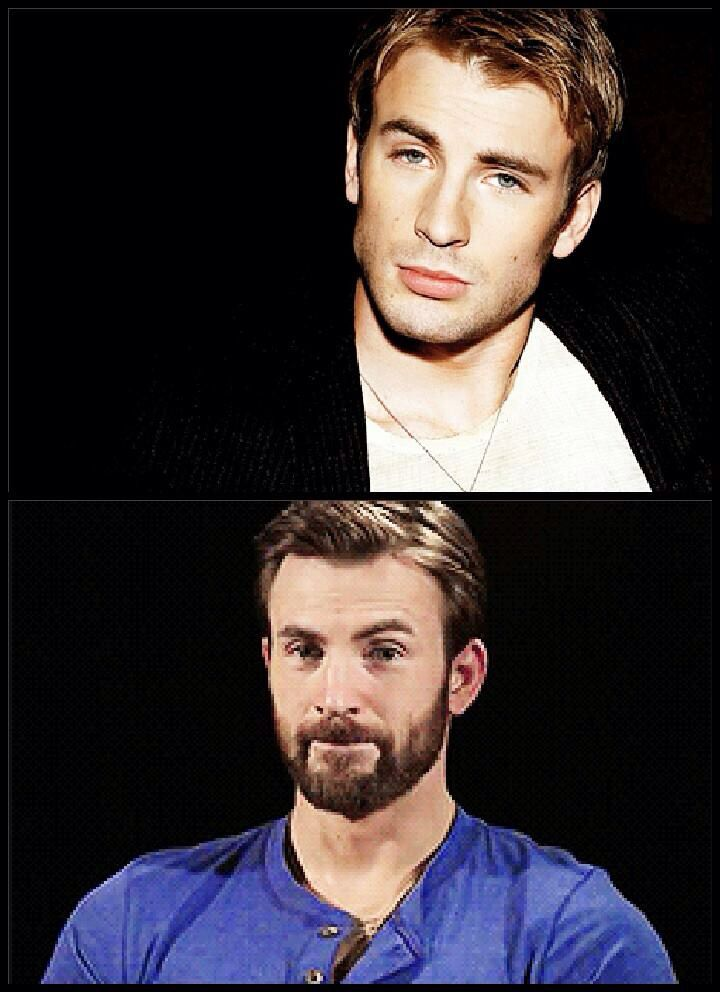 Chris Evans' hotness is troubling to Chris Evans.