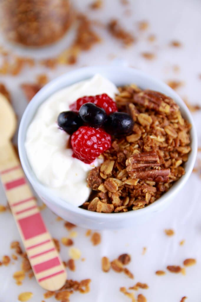 Microwave mug meals 5 unbelievable recipes pinterest granola microwave granola in a mug crispy and toasted just like baked granola you wont believe it came from the microwave gluten free dairy free vegan forumfinder