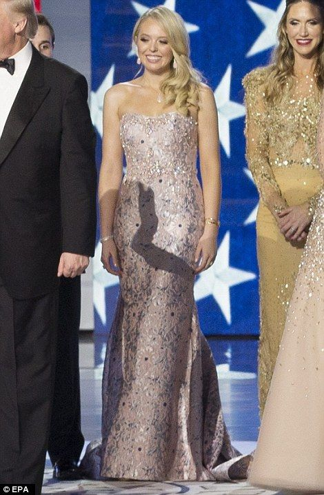 Melania, Ivanka and Tiffany Trump dazzle in inaugural ball gowns in ...