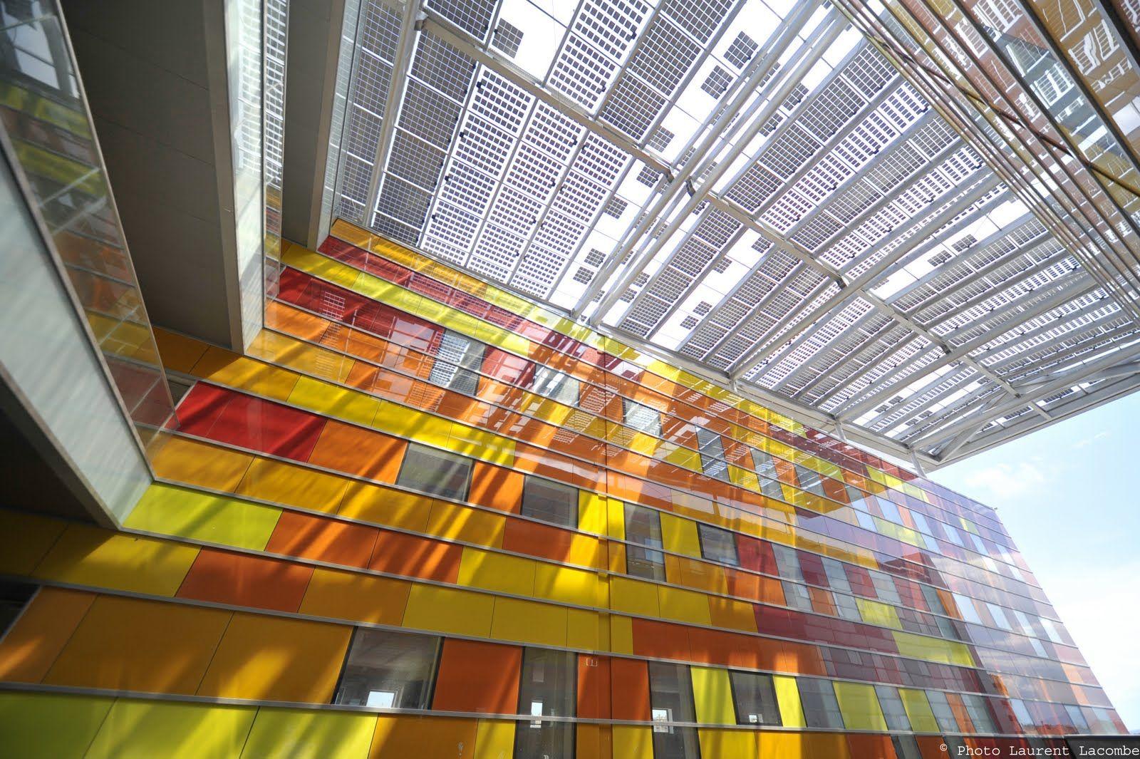 Projet Bipv Gare Tgv De Perpignan Building Integrated