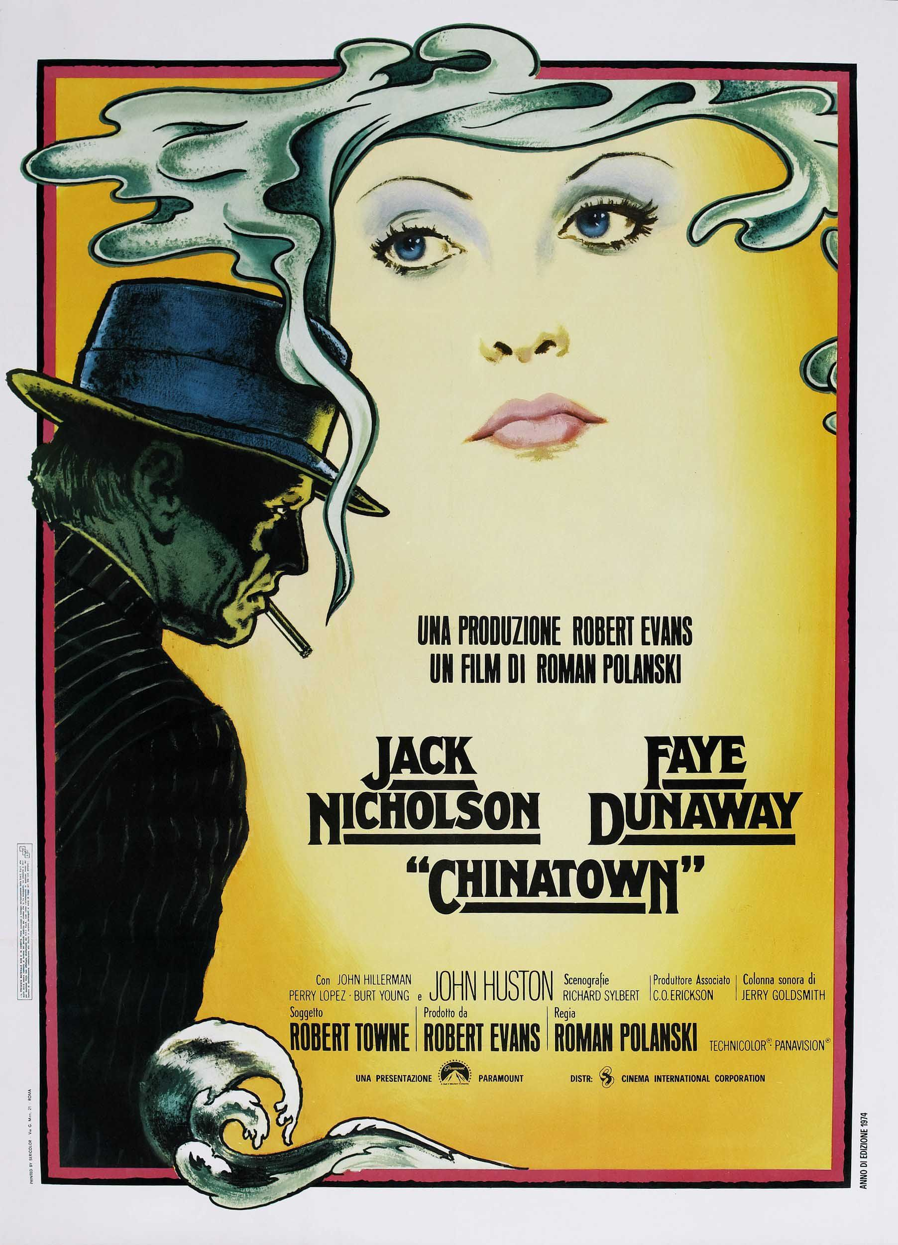 a review of chinatown a movie by roman polanski Monday movie review: chinatown not even after having seen the movie chinatown but let me give you a little glimpse of the movie anyway roman polanski.