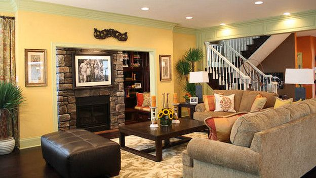 "Normal Living Rooms With Tv extreme makeover home edition - ""arboleda family,"" - living room"
