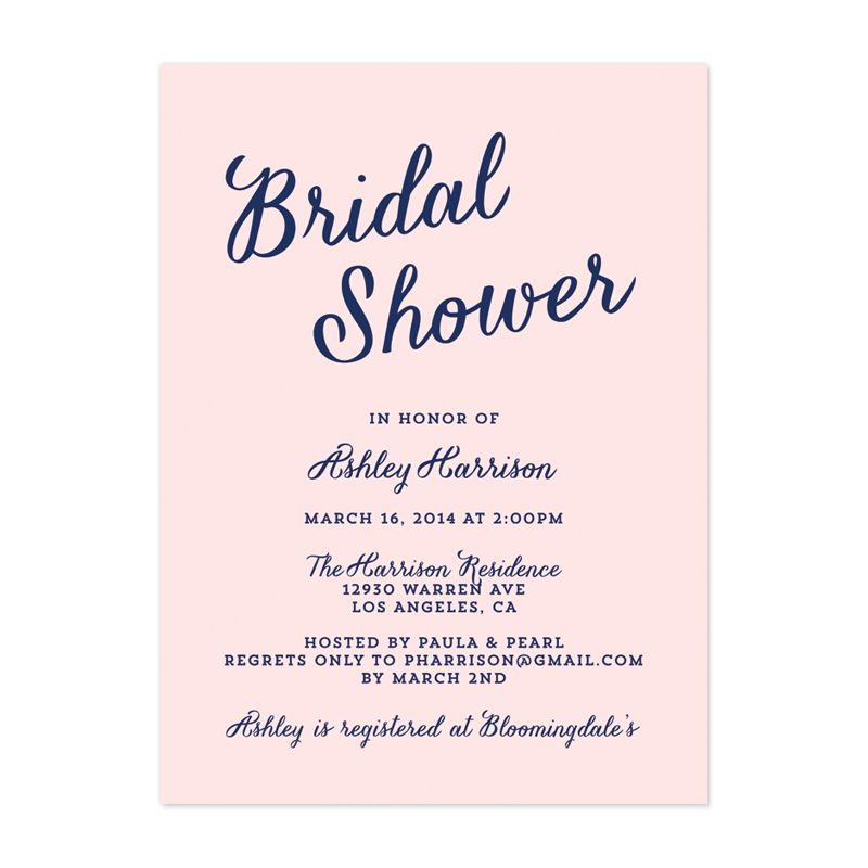 modern-script-bridal-shower-invitationjpg (800×800) Wedding - corporate invitation format