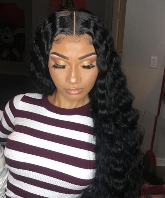 6 Inches Dee Part Pre-Plucked Deep Body Wave 360 Lace Wigs 150% density, 100% Indian Remy Hair 360 Wig [N360DBW01]
