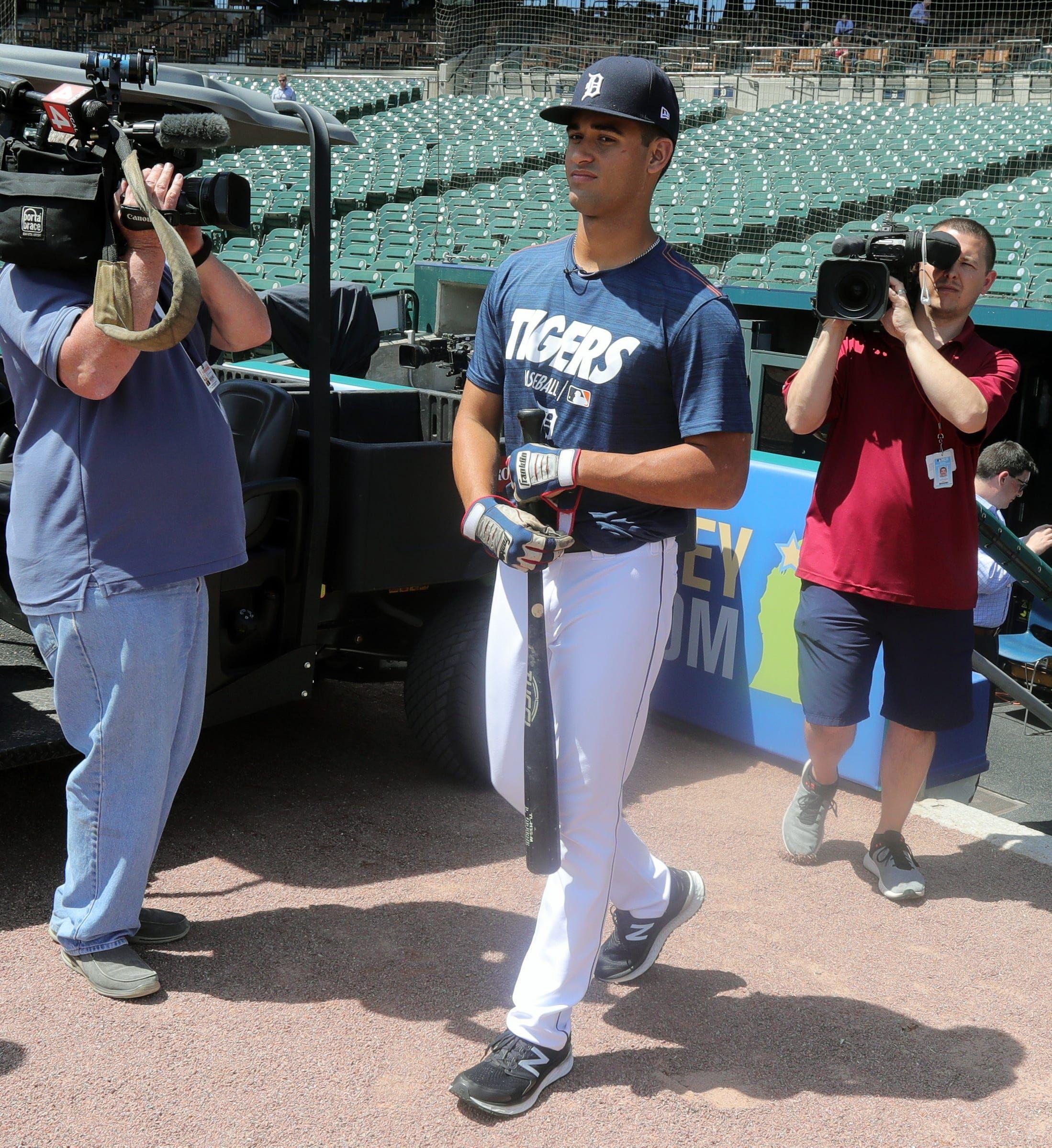 Detroit Tigers top prospects Minor league statistics for