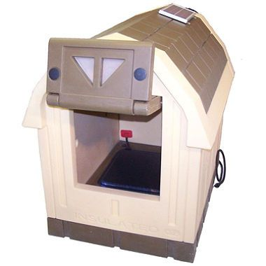 Asl Solutions Deluxe Dog Palace Large Doghouse Includes Heater
